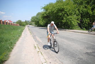 Photo: Одна из горок на маршруте. И почему на фото всегда дорога плоская?:)