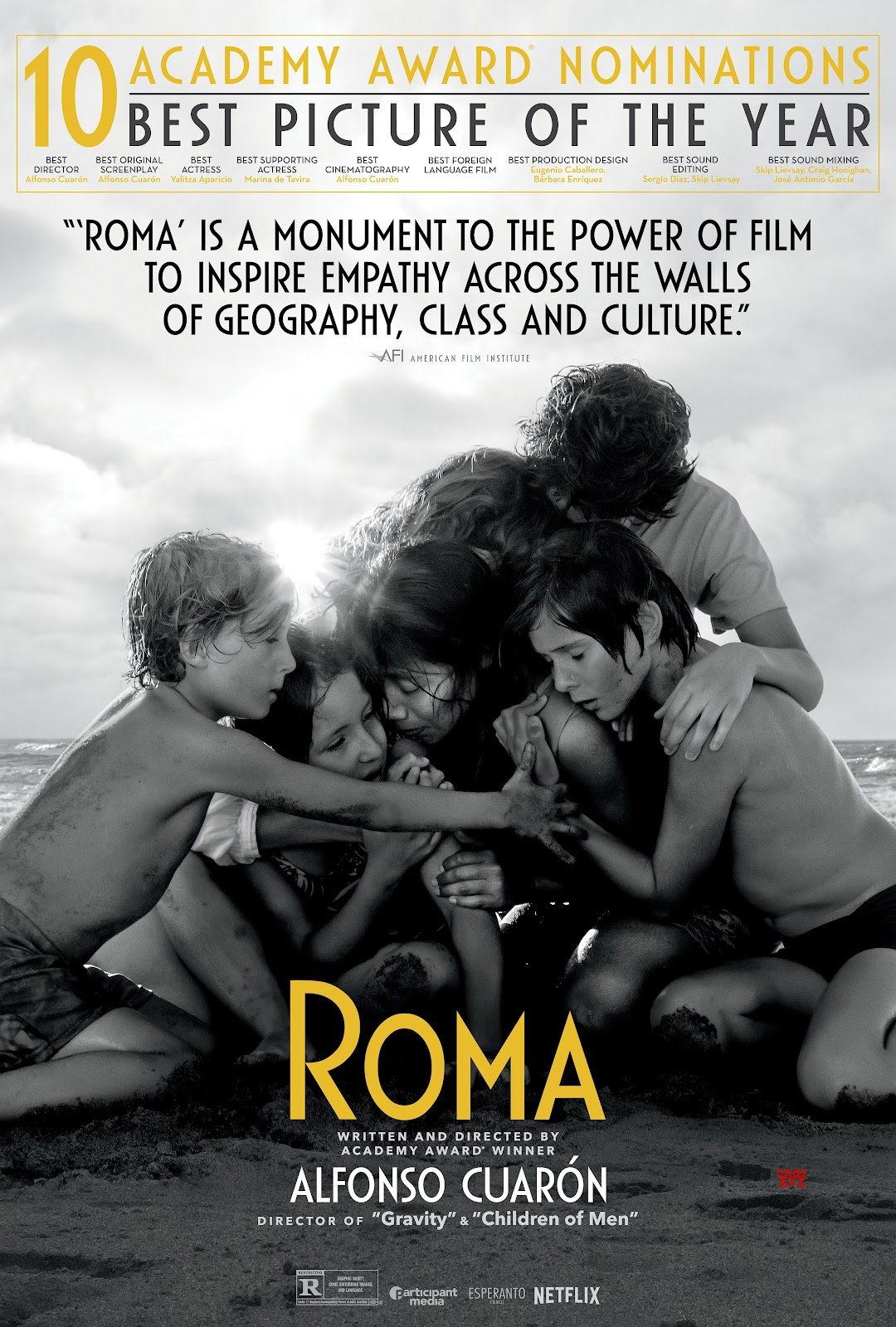 Image result for roma movie poster