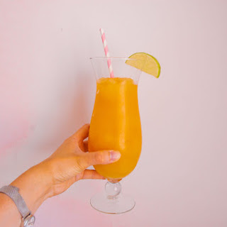Pineapple and Orange Rum Slush Recipe