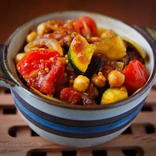 Tunisian Vegetable Ragout with Quinoa.