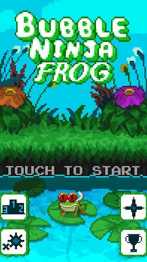 Bubble Ninja Frog