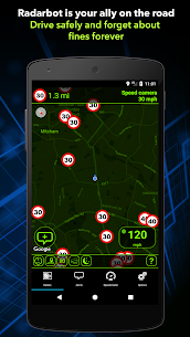Radarbot : Speed Camera Detector & Speedometer Pro v6.3.3 Cracked APK 3