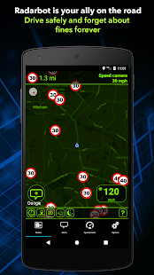 Radarbot Free: Speed Camera Detector & Speedometer- screenshot thumbnail