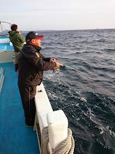 """Photo: まずは「漁礁」。 ファーストヒットは""""イワナガさん""""!"""