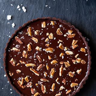 Chocolate Turtle Tart.