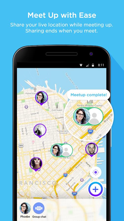 Jink: Messaging • Meets • Maps- screenshot