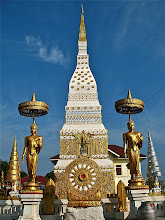 Photo: Wat Mahathat along the Mekong River, Nakhon Phanom