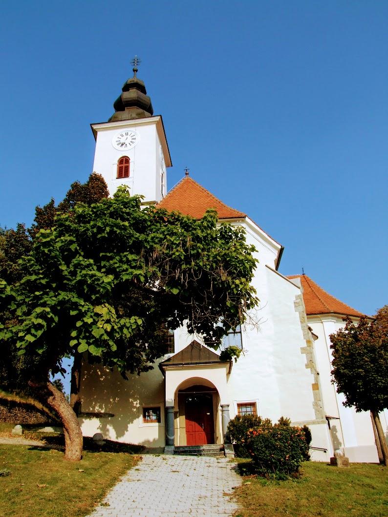 Kamnica - cerkev sv. Martina (Szent Márton templom)