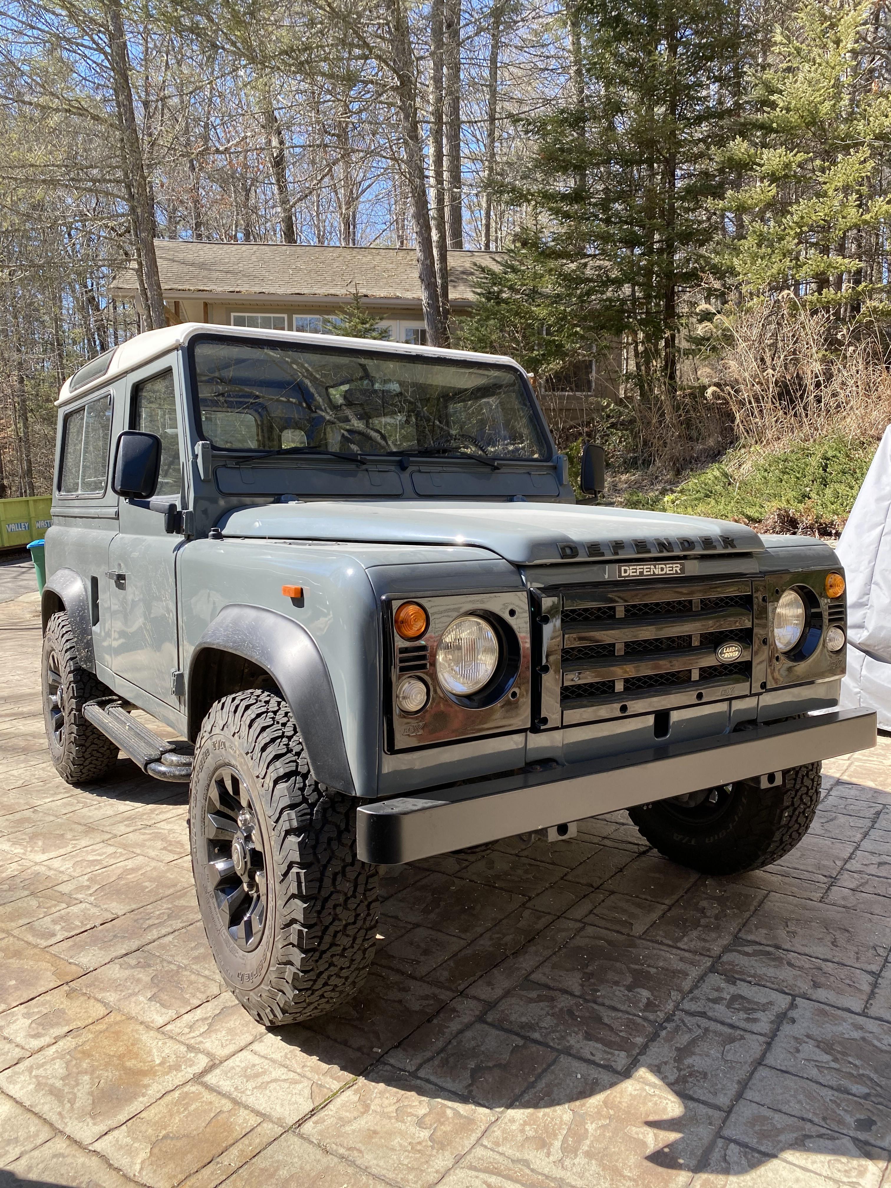 Land Rover Defender Hire Asheville