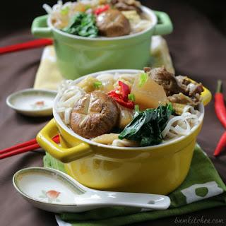 Five Spiced Beef Diakon Noodle Soup
