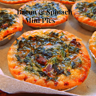Bacon & Spinach Mini Pies