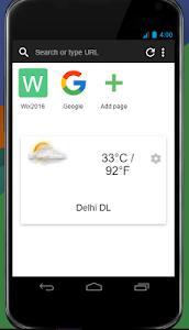 Surfup Browser Lite screenshot 0