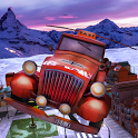 Christmas Flying Car games icon
