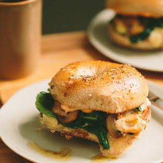 Spinach Florentine + Egg Breakfast Sandwich