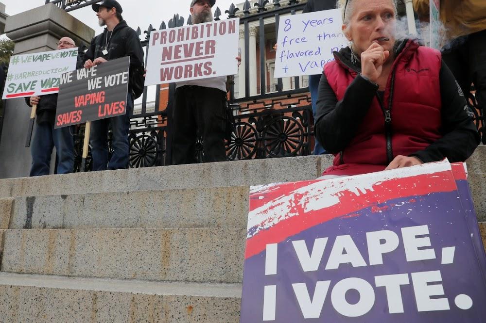 Negentien is nou in Amerika dood aan vamping-gekoppelde longsiekte