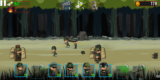 War Troops: Military Strategy Game for Free  screenshots 3