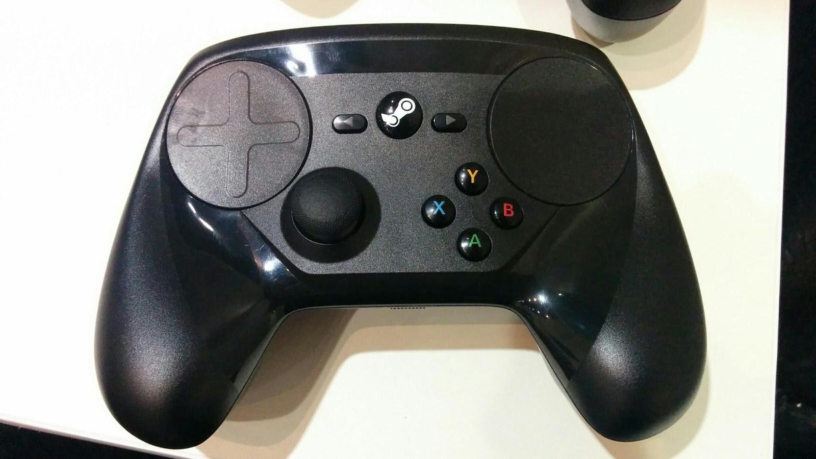 Tay cầm Valve Steam được sử dụng với PC và có thể sử dụng được trong các trò chơi mà không hỗ trợ cho tay cầm