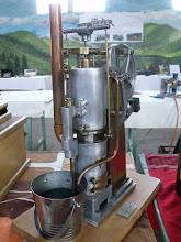 Photo: .....un moteur à air chaud.......