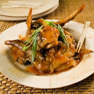 Thai Chicken Wings.