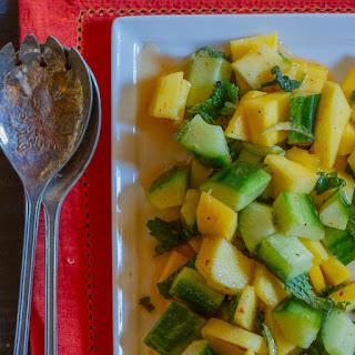 Mango-Cucumber Salad with Mint