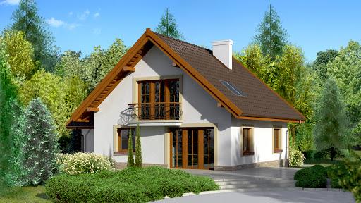 projekt Dom przy Cyprysowej 10