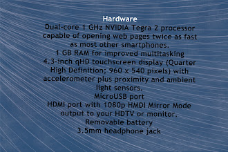 Photo: These hardware stats are amazing considering this is just a phone. I think some of these numbers are higher than my husband's desktop computer...