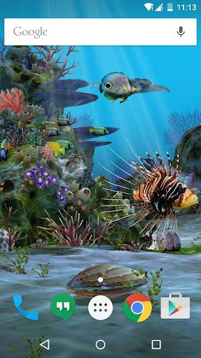 3D Aquarium Live Wallpaper HD 1.3.6 screenshots 8