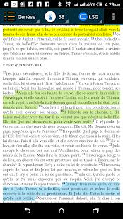 La Bible Segond (French) - náhled