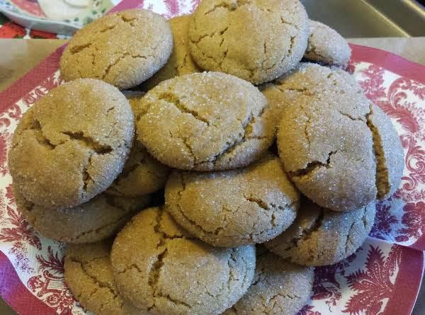Sorghum Sugar Cookies Recipe