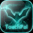 TouchPal Dark Neon Green Theme
