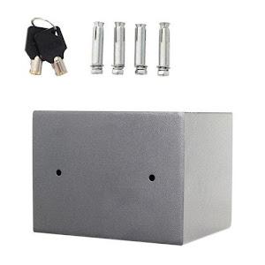 Seif electronic antiefractie 170 x 230 x 170 mm, Gri Antracit
