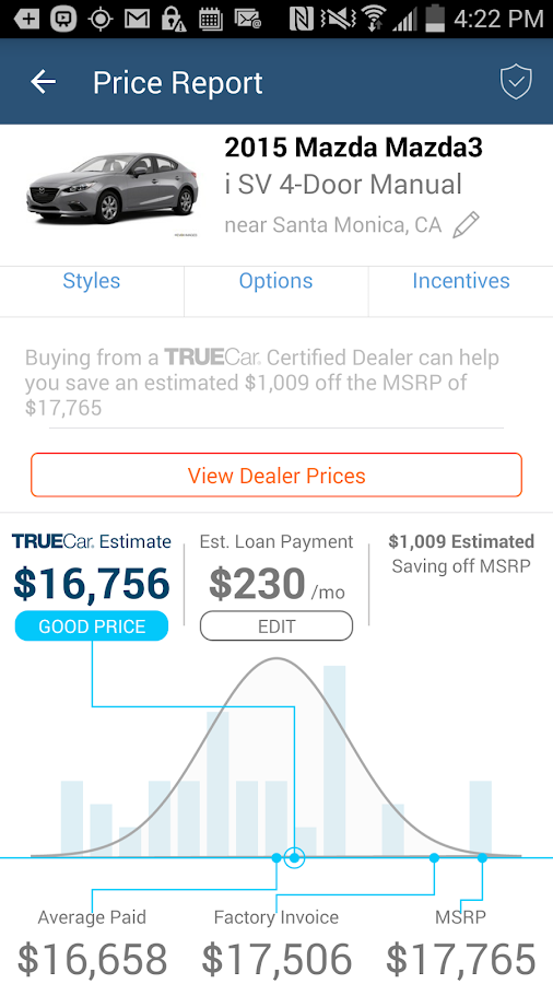 TrueCar- screenshot