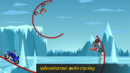Tiny Bike Race - Bike Stunt Tricky Racing Rider 2 screenshots 2