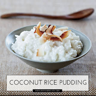 Coconut Rice Pudding.
