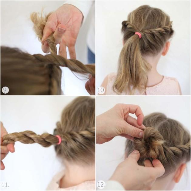 Astounding Little Girl Hairstyle Tutorial Android Apps On Google Play Hairstyles For Women Draintrainus