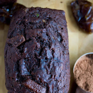 Double Chocolate Date Zucchini Bread