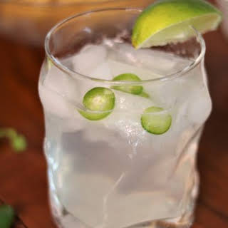 Jalapeño Lime Mocktail.