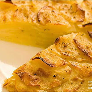 Oven-Roasted Potato Galette.