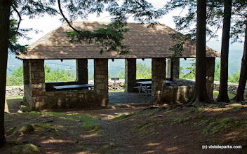 Photo: This mountainside picnic pavilion at Mt. Ascutney State park can be rented for group functions. By Paul Anderson