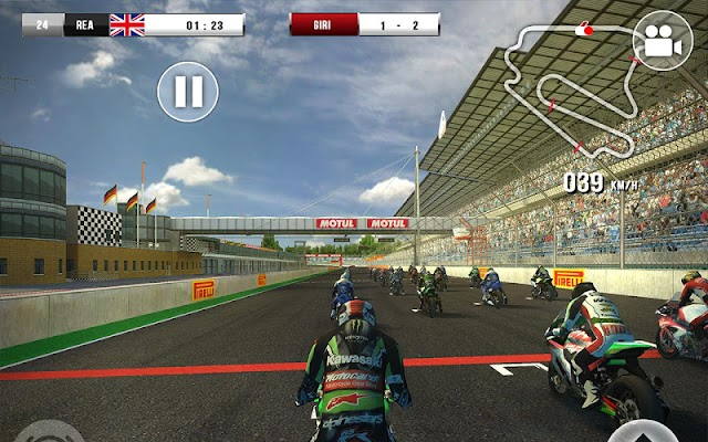 SBK16 Official Mobile Game Screenshot Image