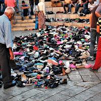 scarpe a Gerusalemme una traccia per tutti di