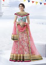 Photo: CODE: 6713 3 PCS Designer Lehenga Saree . Price : USD 119