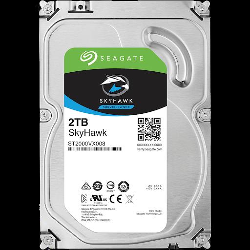 Ổ cứng HDD Camera Seagate Skyhawk 2TB 3.5