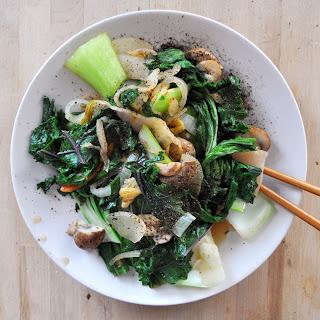 Vegan Kimchi Stir-Fry Recipe