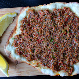 Dough Recipe for Lahmacun or Lahmajoun (Also known as Armenian Pizza)
