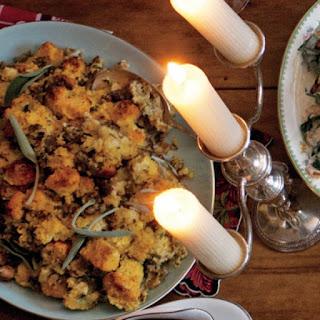 Oyster-Cornbread Stuffing