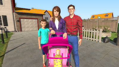 Virtual Mother Happy Family New Baby Twins APK Download - Apkindo co id
