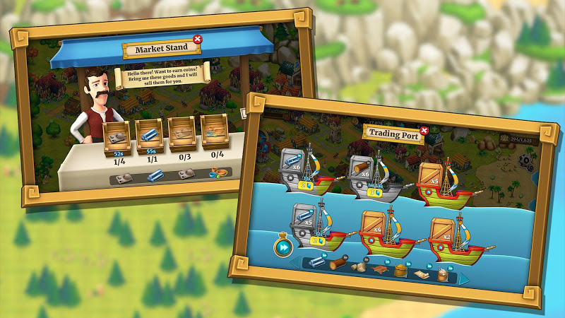 Town Village: Farm, Build, Trade, Harvest City Screenshot 12