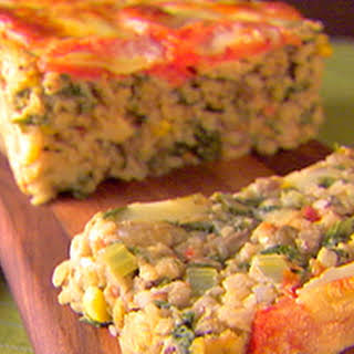 Veronica's Veggie Meatloaf with Checca Sauce.