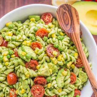 Creamy Avocado Pasta Salad Recipe